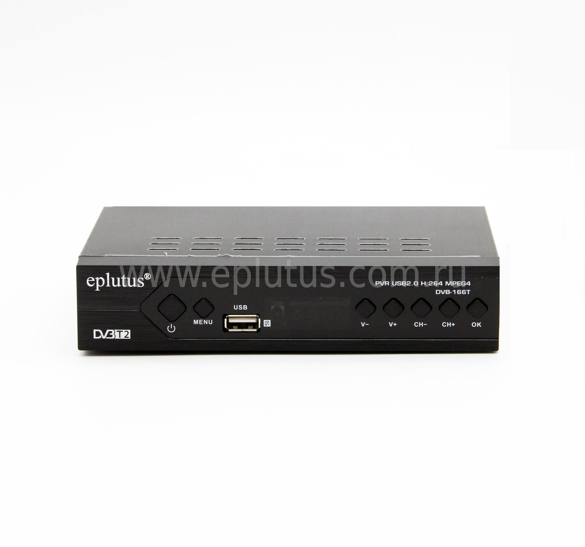 Цифровой HD Mpeg-4 TV-тюнер Eplutus DVB-166T